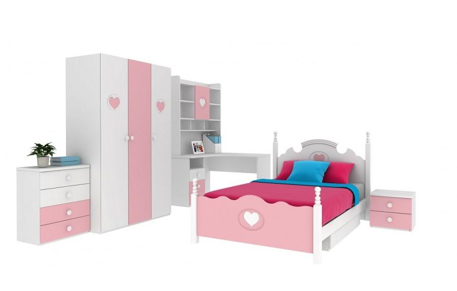 9ef60c4ff43c Detská dvojfarbená dievčenská izba MARY