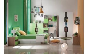 Univerzálna detská/študenstká izba APPLE GREEN