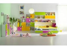 Farebná detská/študentská izba PINNY